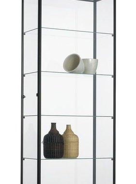 ABC Kantoormeubelen Glazen vitrinekast 200x80x40