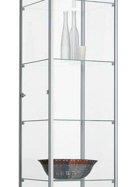 ABC Kantoormeubelen Glazen vitrinekast 200x50x50