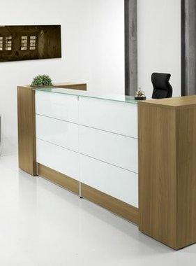 Uw bezoekers gastvrij ontvangen met een balie van kantoormeubelenplus kantoormeubelen - Moderne entree meubels ...