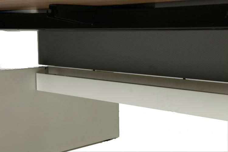 Schaffenburg Avitus kabellade 120cm tbv duo werkplek voor montage op de beam