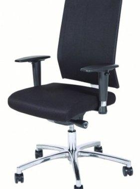 Schaffenburg Schaffenburg bureaustoel serie 045 zitting voetenkruis chroom