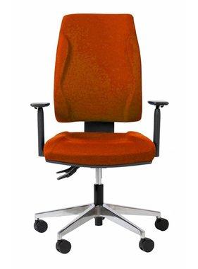Kantoormeubelen Plus Jim/S bureaustoel met comfort zitting en rug