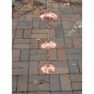 Koperen Regenketting Paraplu