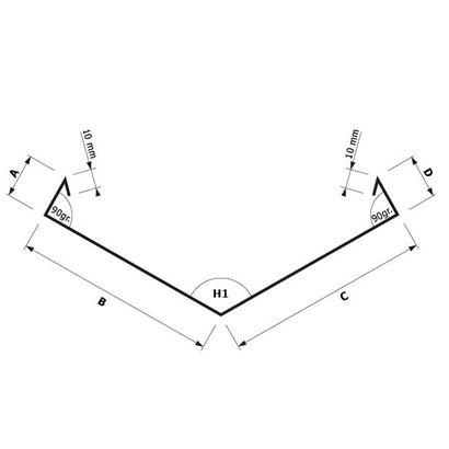 Zetwerk zink - Kilgoot op maat Type 8