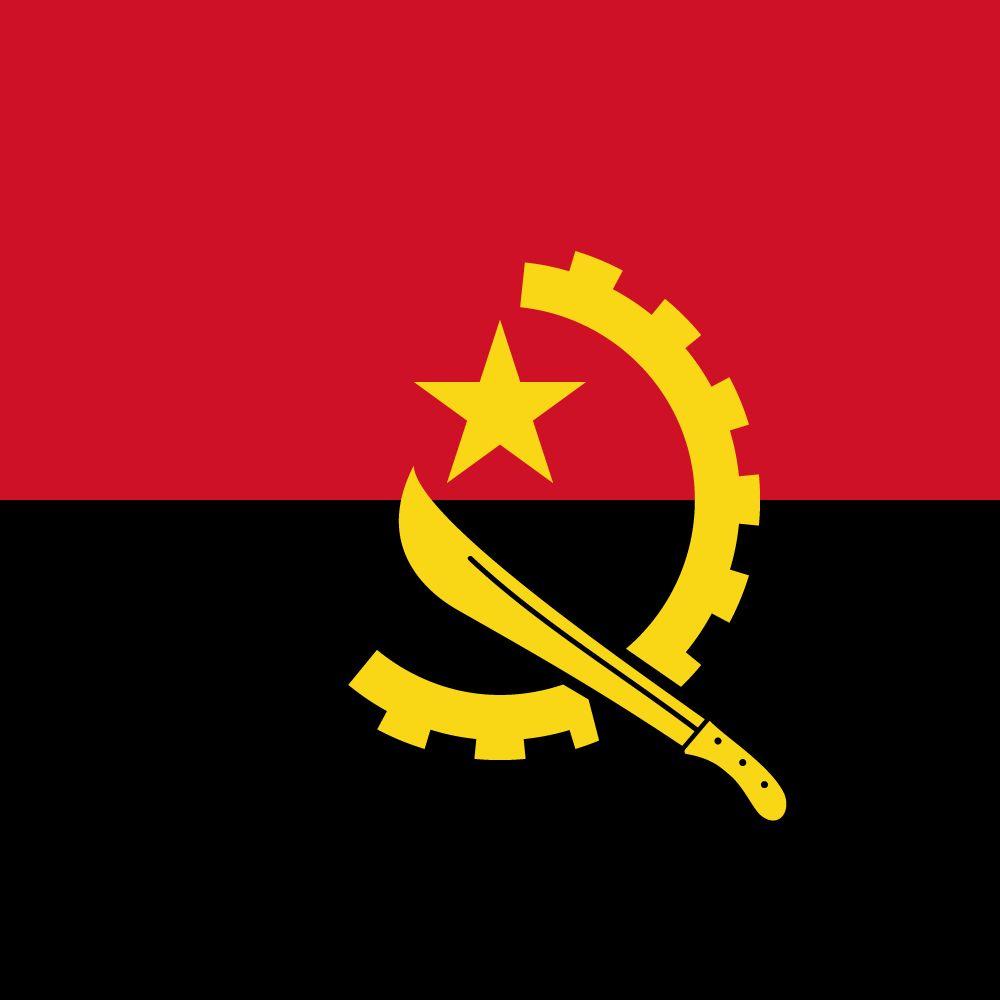 Angola Flag Svg