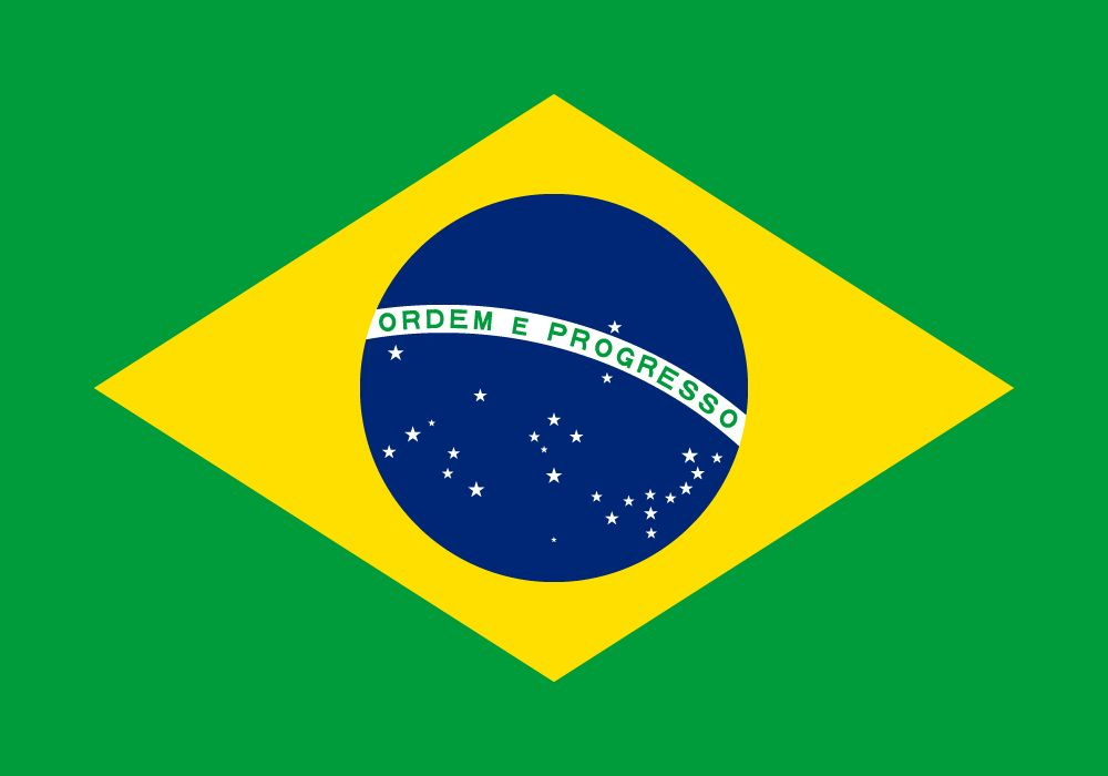 Flag Of Brazil Image And Meaning Brazilian Flag Country Flags