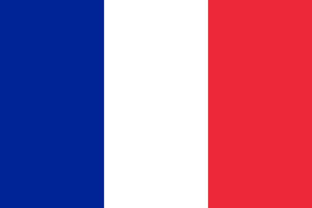 franz sische flagge abbildung und bedeutung flagge von frankreich country flags. Black Bedroom Furniture Sets. Home Design Ideas