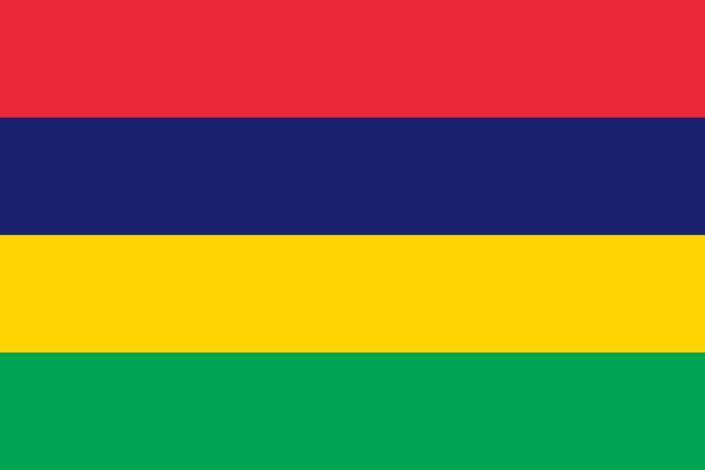 Flagge Rot Grün Blau