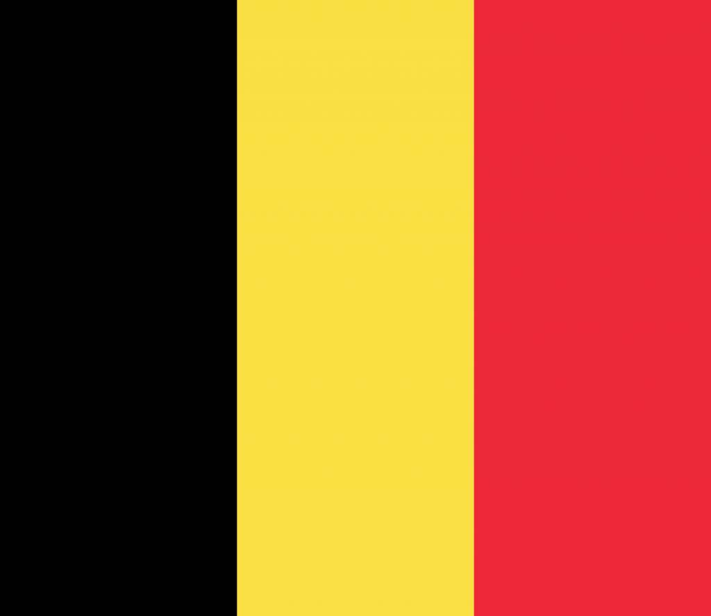 Belgium Flag Vector Country Flags