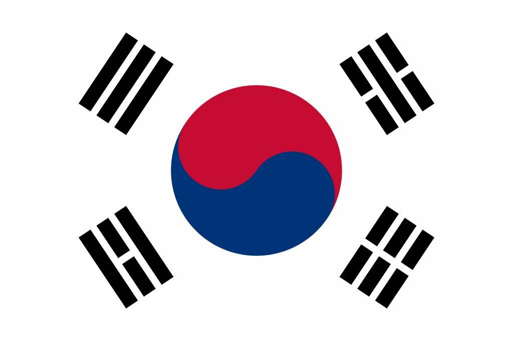 south korea flag vector country flags rh countryflags com south korea flag vector download south korean flag vector