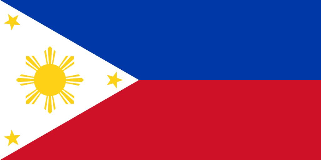 The Philippines Flag Vector Country Flags