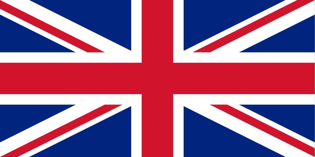 the united kingdom flag vector