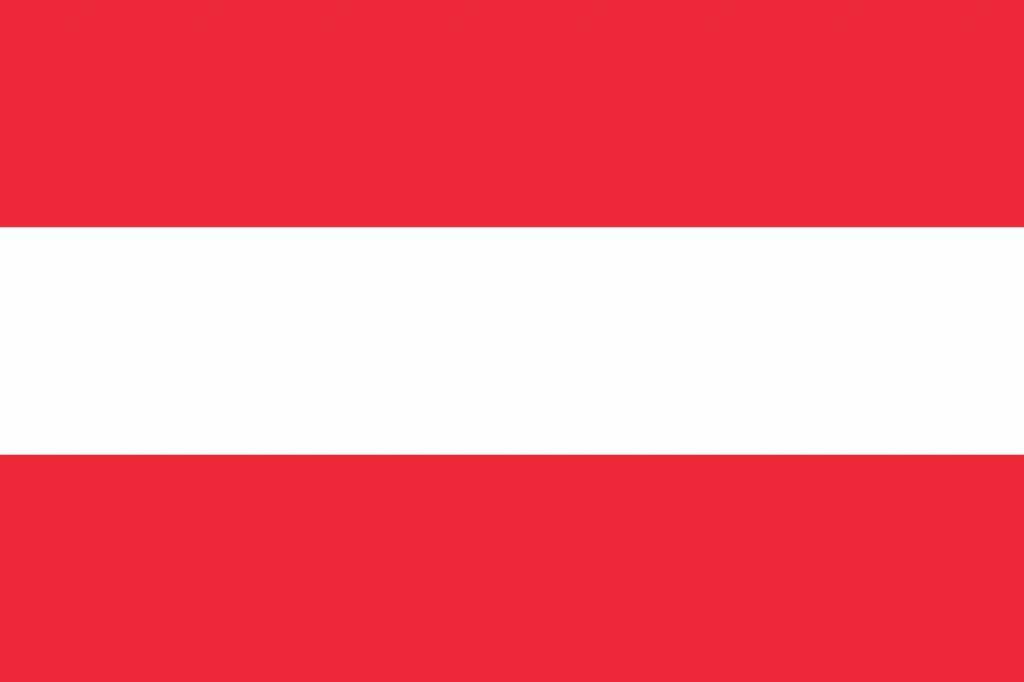 Austria Flag Coloring