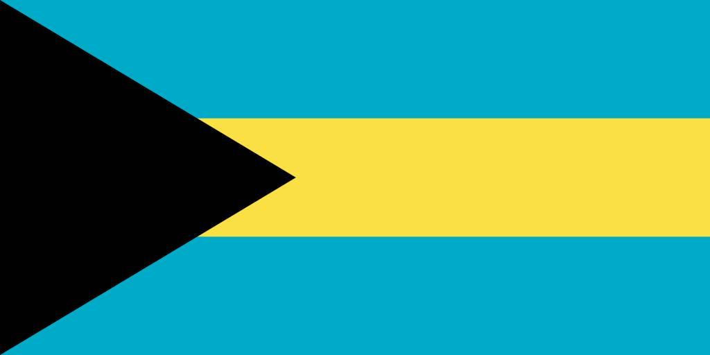The Bahamas Flag Coloring