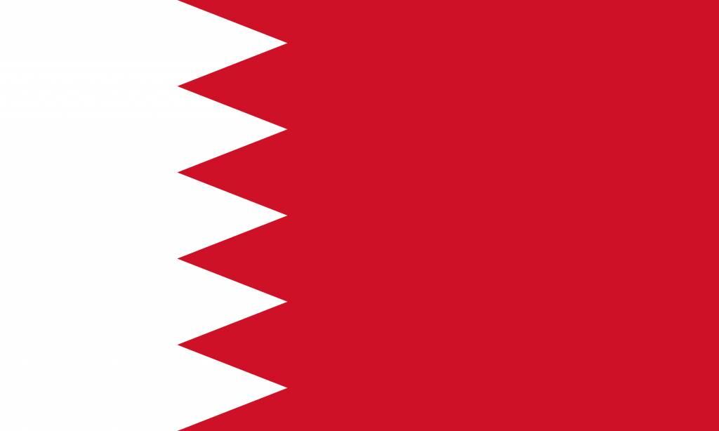 Bahrain Flag Coloring