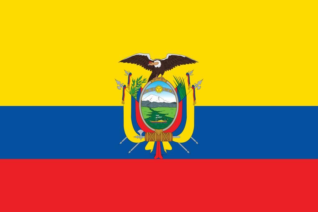 ecuador flag coloring country flags