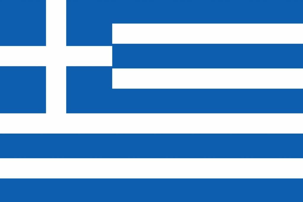 griekenland vlag kleurplaat country flags