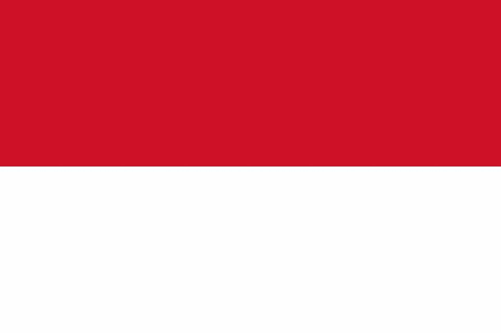 Indonesia Flag Coloring