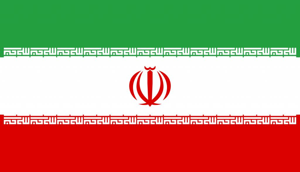 iran vlag kleurplaat country flags