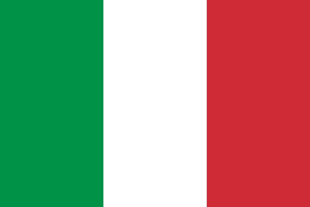 Italy flag emoji - country flags