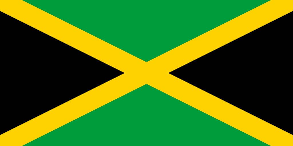 jamaica flag coloring page - jamaica flag coloring country flags