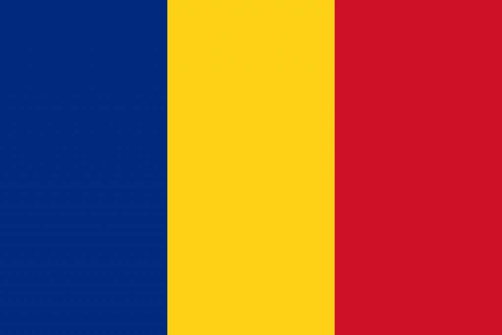 Romania Flag Coloring