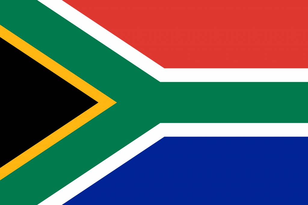 south africa flag coloring country flags
