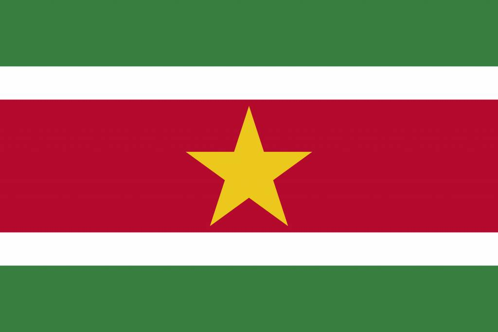 suriname vlag kleurplaat country flags