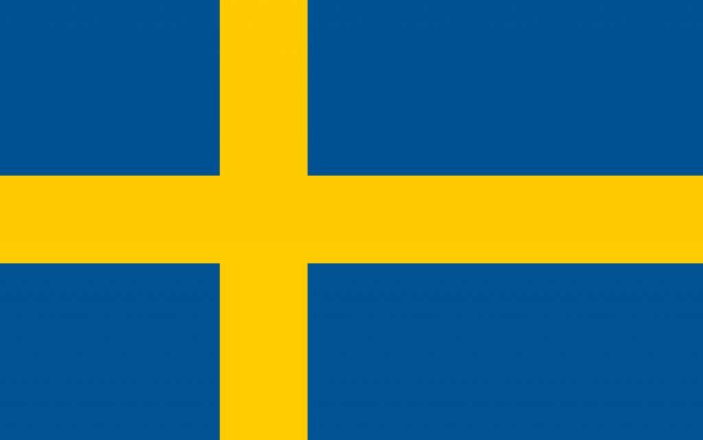 Sweden Flag Coloring