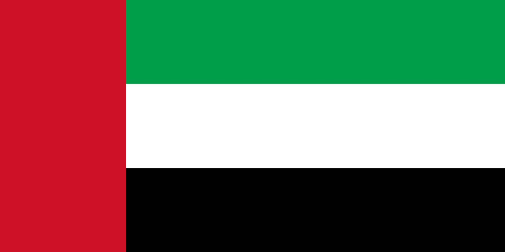 The United Arab Emirates Flag Coloring