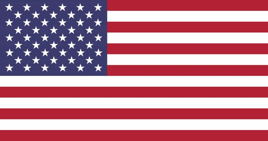 Drapeau Américain à Colorier