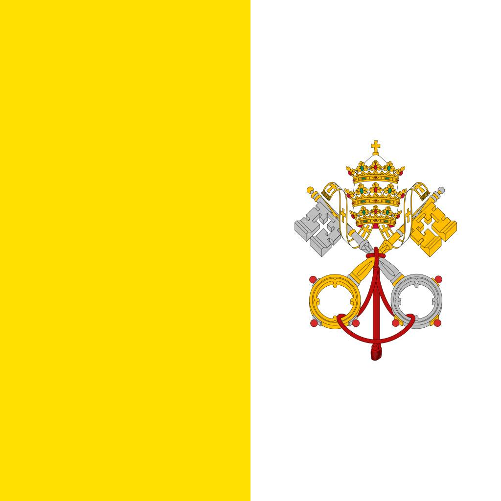 vatican city flag coloring country flags