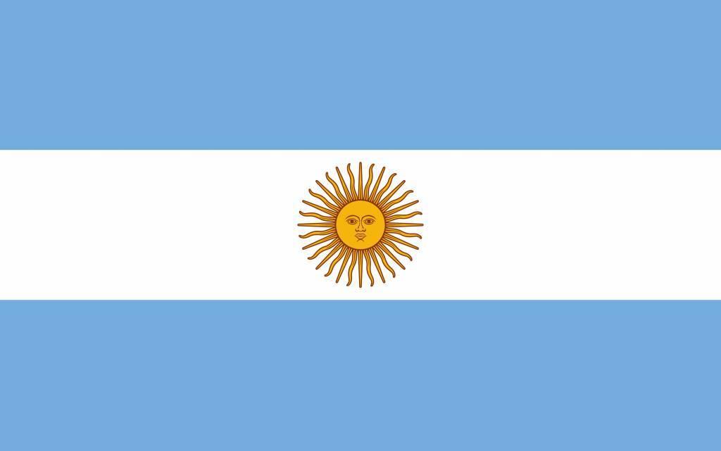 Drapeau l 39 argentine colorier country flags - Drapeau a colorier ...
