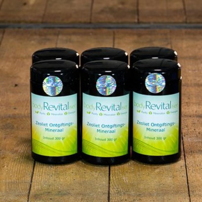 bodyRevitaliser Voorzie nu ook Jouw klanten met Zeoliet-Ongiftingsmineraal om hun lichaam van schadelijke stoffen te bevrijden.