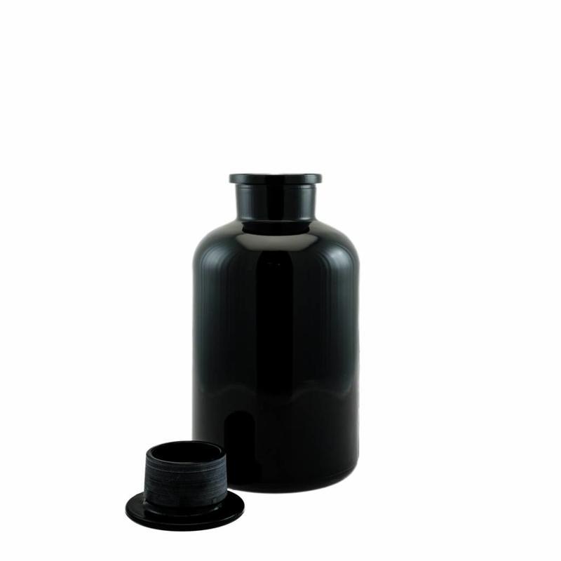 Miron UV Miron UV-Glas apothekersfles met inzetdop 2000ml