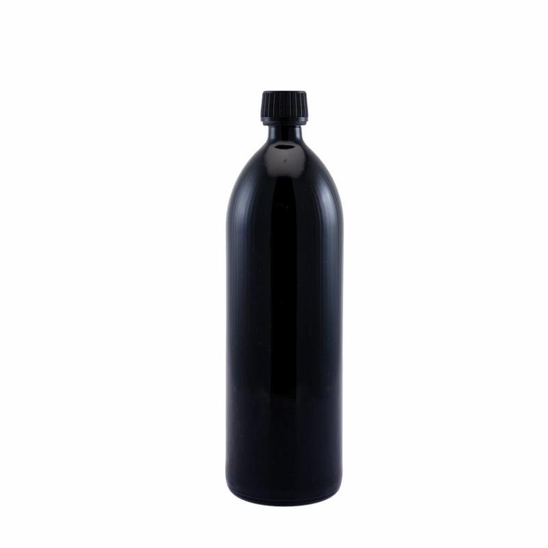 Miron UV Miron UV glazen fles met veiligheidsdop 1000ml