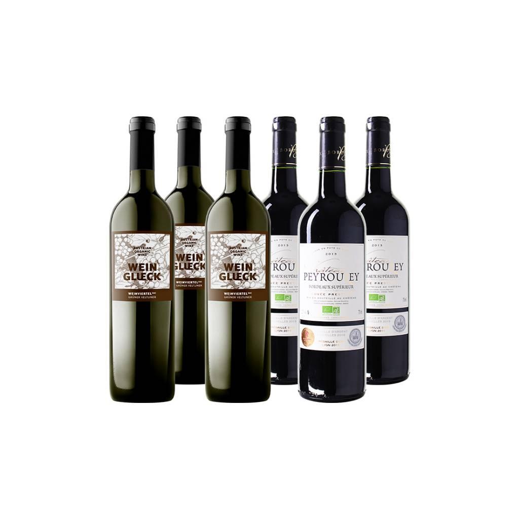Gastronomisch Wijnpakket By the Grape Bio - 6 flessen