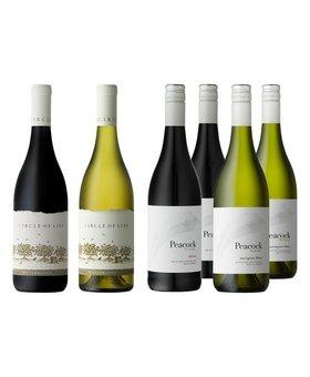 Zuid-Afrikaans Deluxe wijnpakket - 6 flessen
