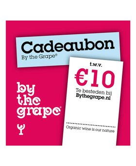 Cadeaubon - By The Grape 10 euro