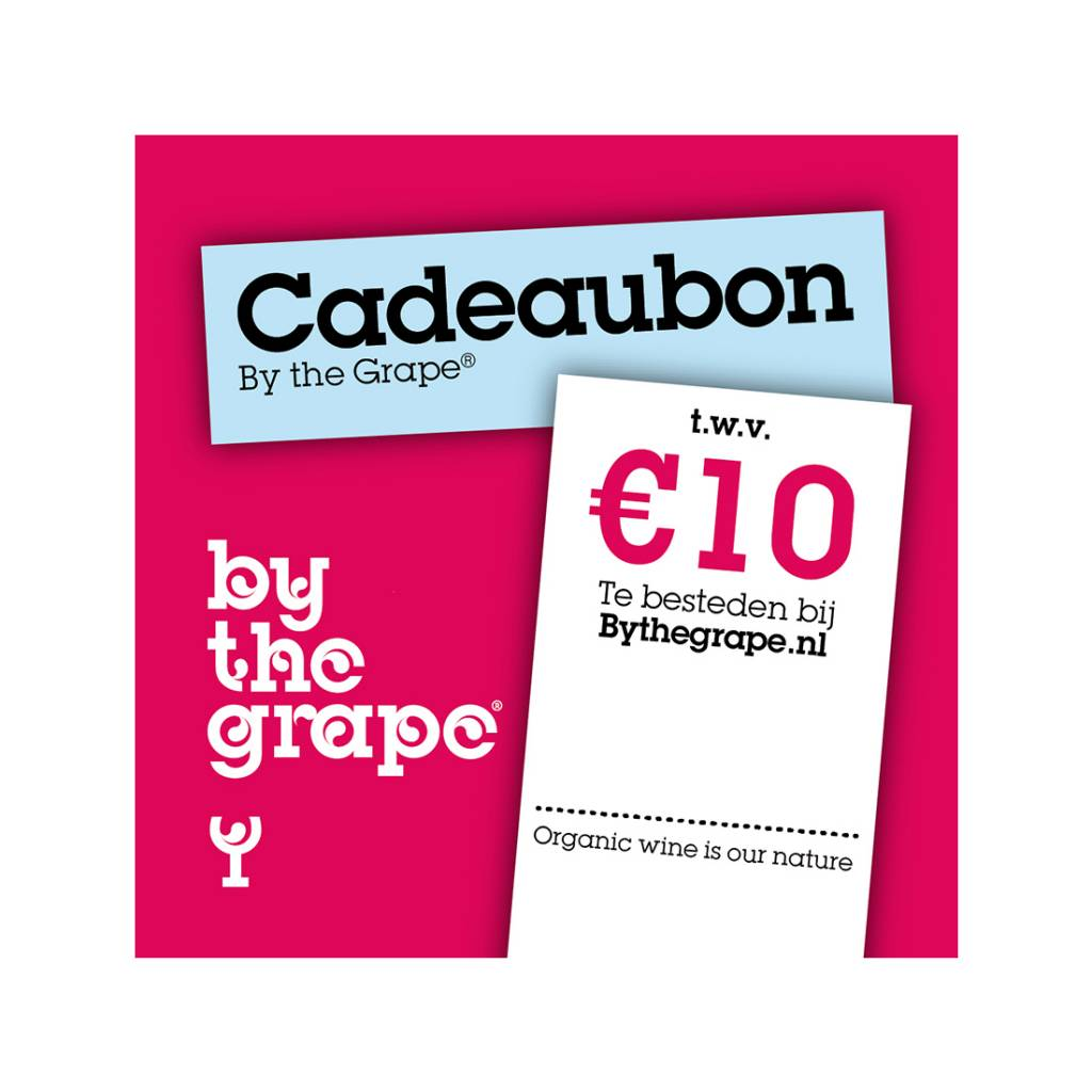 Cadeaubon - By The Grape 10 euro