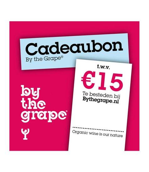 Cadeaubon - By The Grape 15 euro