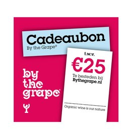 Cadeaubon - By The Grape 25 euro