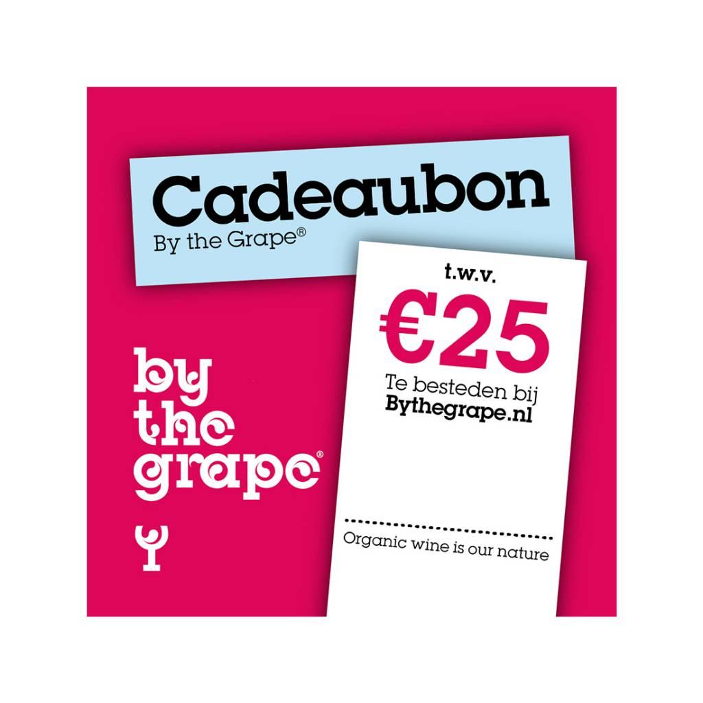 Cadeaubon - By The Grape 25 euro