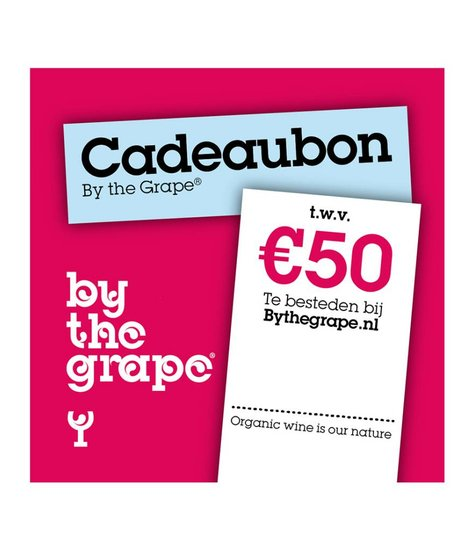 Cadeaubon - By The Grape 50 euro