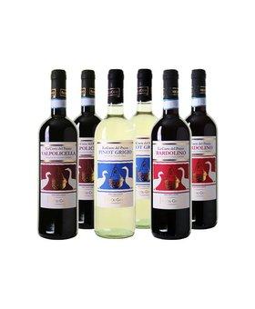 Italiaanse Wijnpakket Bio - 6 flessen