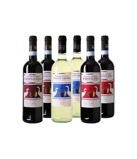 Italiaanse biologische wijnen - Wijnpakket 6 flessen