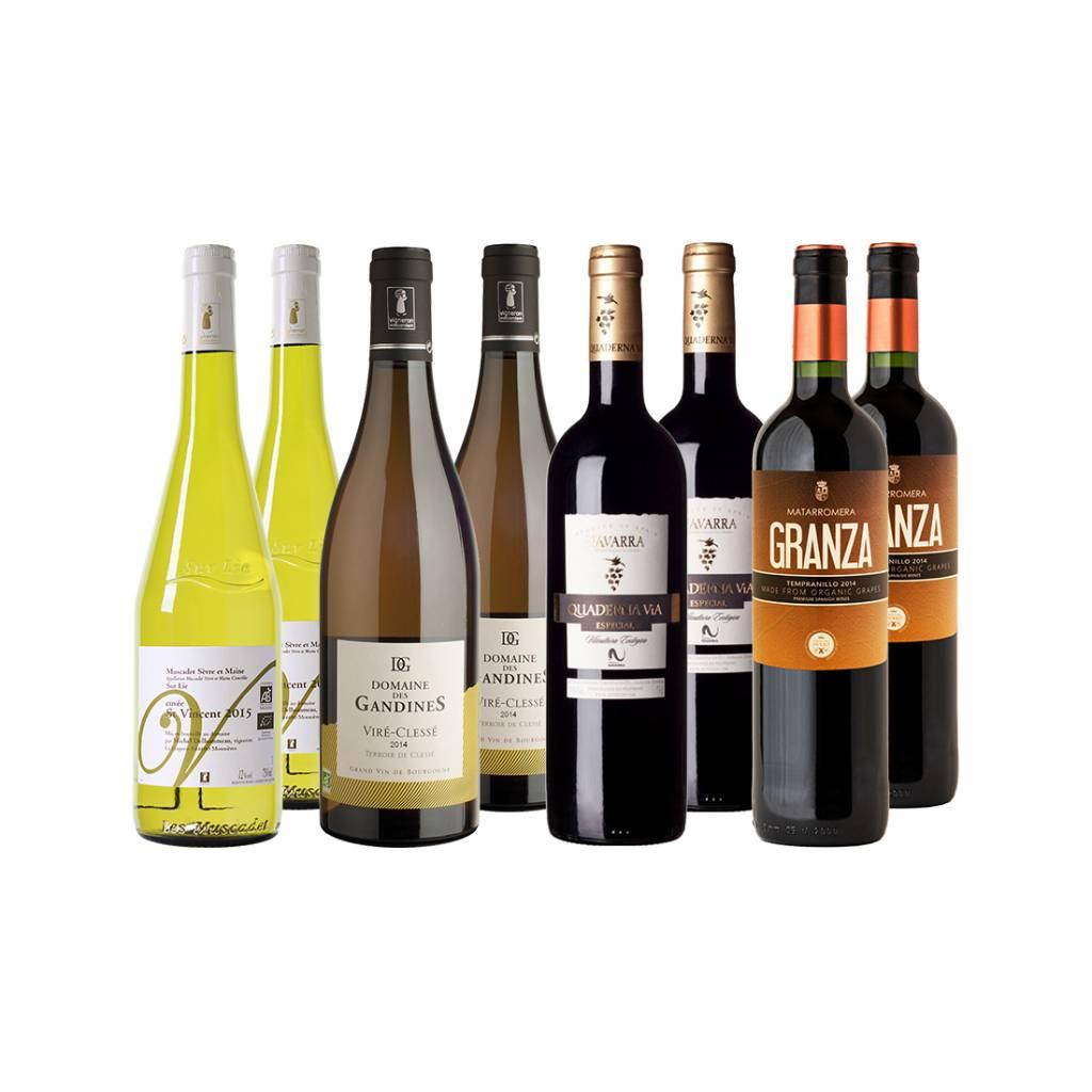 Winter wijnpakket - 8 flessen