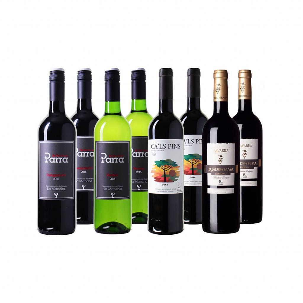 Spaans Bio Wijnpakket - 6 flessen