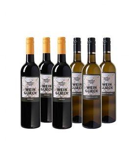Biologisch Weinglueck Wijnpakket  - 6 flessen