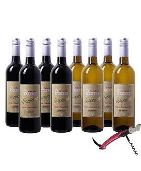 Parra By the Grape Especial Wijnpakket (bio)  - 8 flessen